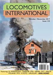 Locomotives International Magazine Cover
