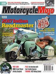Motorcycle Mojo issue November 2017