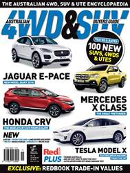 Australian 4WD and SUV Buyers Guide issue Sept Issue#30 2017