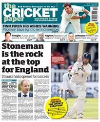 The Cricket Paper issue 22nd September 2017