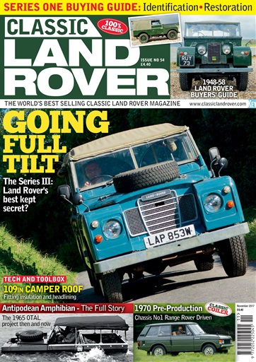 Classic Land Rover Magazine Digital Issue