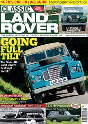 Classic Land Rover Magazine issue  November 2017