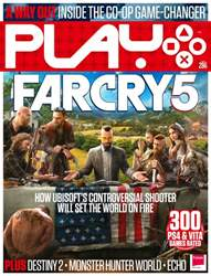 Play Magazine Cover