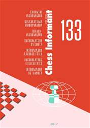 Chess Informant 133  (August  2017) issue Chess Informant 133  (August  2017)
