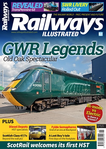 Railways Illustrated issue  November 2017