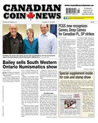 Canadian Coin News issue V55#14 - October 17