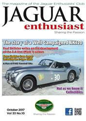 Jaguar Enthusiast issue October 2017