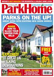 Park Home & Holiday Caravan issue November 2017