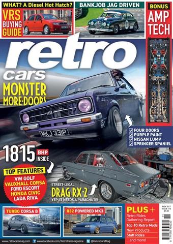 Retro Cars issue November 2017