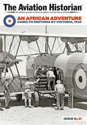 The Aviation Historian Magazine issue Issue 21