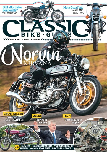 Classic Bike Guide Magazine April 2018 Subscriptions Pocketmags