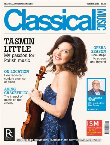 Classical Music issue October 2017
