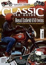 Classic Bike Guide issue November 2018