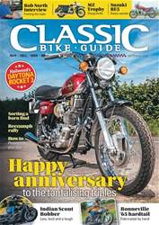 Classic Bike Guide Magazine Cover