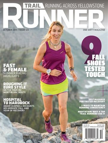 Trail Runner issue October 2017, #123