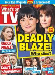 What's on TV issue 30th September 2017