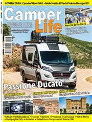 CAMPER LIFE issue CamperLife Ottobre 2017