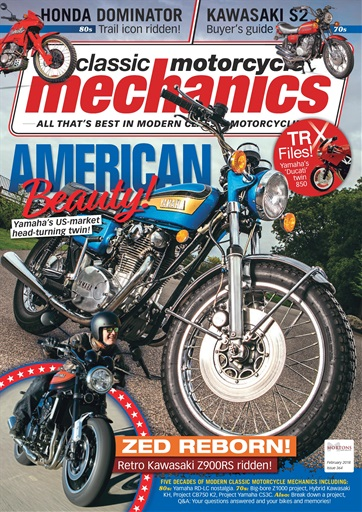 title cover preview classic motorcycle mechanics preview