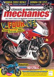 Classic Motorcycle Mechanics issue May 2018