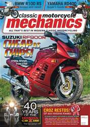 Classic Motorcycle Mechanics Magazine Cover