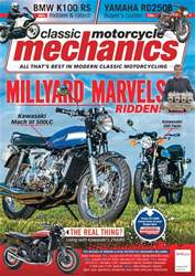 Classic Motorcycle Mechanics issue August 2018