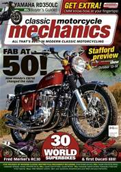 Classic Motorcycle Mechanics issue October 2018