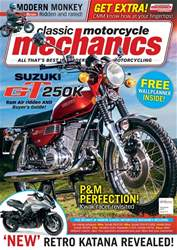 Classic Motorcycle Mechanics issue November 2018
