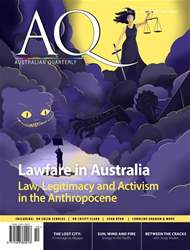 AQ: Australian Quarterly 88.4 issue AQ: Australian Quarterly 88.4