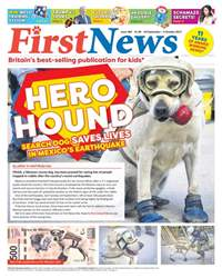 First News Issue 589 issue First News Issue 589
