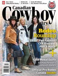 Canadian Cowboy Country issue OctNov 2017