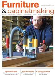 Furniture & Cabinetmaking issue November 2017