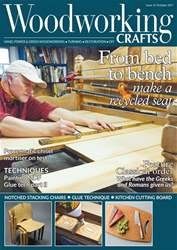 Woodworking Crafts Magazine Magazine Cover