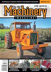 The Old Machinery Magazine issue Oct - Nov 2017
