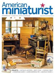 American Miniaturist issue November 2017