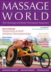 Massage World issue Massage World