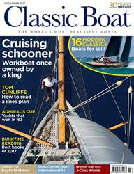 Classic Boat issue November 2017