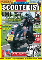 Classic Scooterist issue August-September 2018
