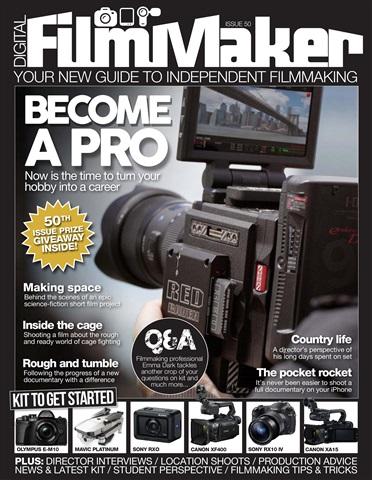 Digital FilmMaker issue DFM Issue 50