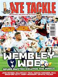 Late Tackle Football Magazine issue Oct/Nov 2017