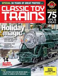 Classic Toy Trains issue December 2017