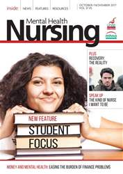 Mental Health Nursing issue Oct/Nov 2017