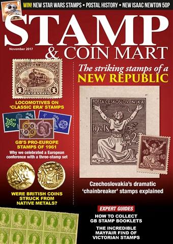 Stamp & Coin Mart issue November 2017