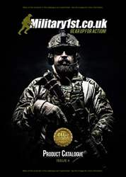 Military 1st Product Catalogue - Fourth Edition issue Military 1st Product Catalogue - Fourth Edition