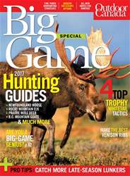 Outdoor Canada issue Big Game 2017