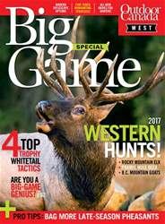 Big Game West 2017 issue Big Game West 2017