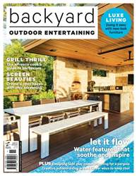 Backyard issue Outdoor Entertaining #11