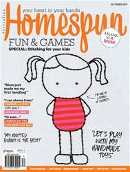 Homespun issue Issue#18.10 Oct 2017