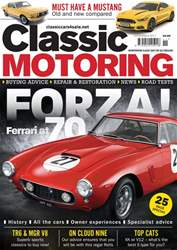 Classic Motoring issue November 2017