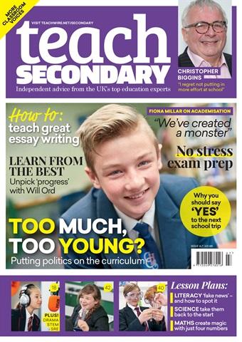 Teach Secondary issue Vol.6 No.7