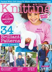 Knitting & Crochet issue November 2017